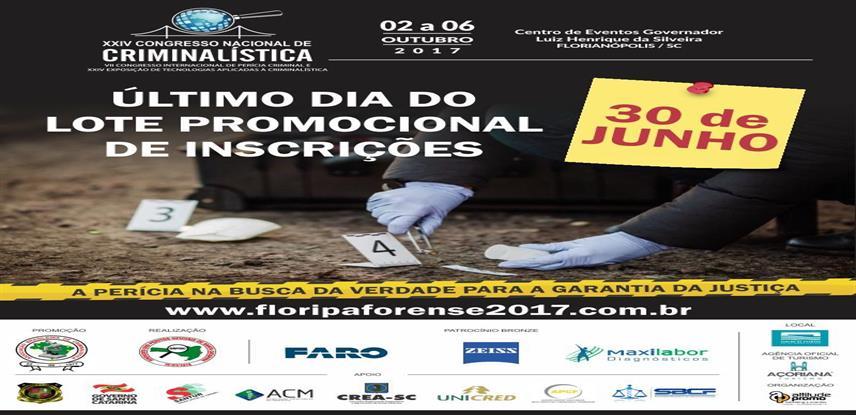 VII Congresso Internacional de Pericial Criminal